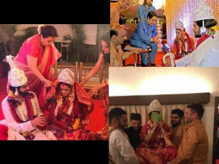 PICTURES! Riya Sen Gets Married To BF Shivam Tewari In Pune