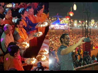Aamir Khan Enjoys Navratri In Vadodara! [SEE PICS]