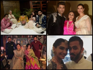In Pics: Aishwarya, Rani, Deepika & Others Celebrate Diwali