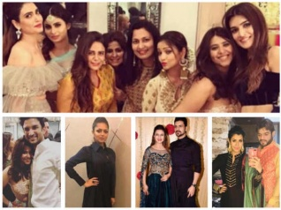 Drashti, DiVek & Other TV Celebs Attend Ekta's Diwali Bash