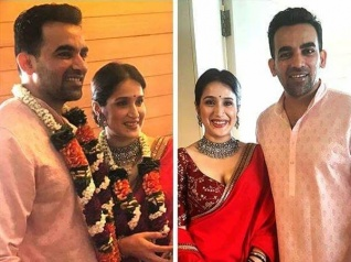 Wedding Bells! Zaheer Khan & Sagarika Ghatge Tie The Knot!