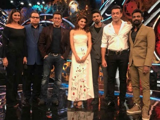 Salman, Jacqueline, Daisy To Promote Race 3 On Bigg Boss 11!