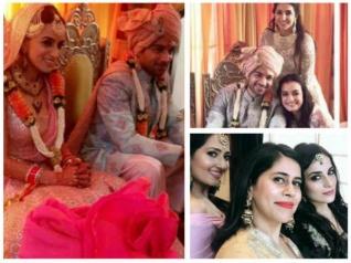 WEDDING PICS: Smriti Khanna & Gautam Gupta Tie The Knot