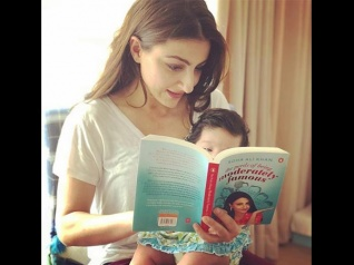 So Cute! Soha Ali Khan Shares A Picture With Her Baby Girl