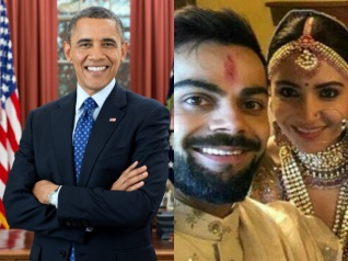 Obama Holidayed At The Resort Which Anushka & Virat Married!
