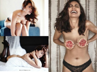 Esha Gupta Deletes Her Topless, Cleavage & Butt Pics! SO SAD