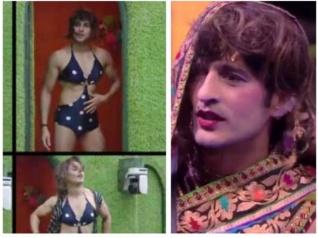 BB 11: Hiten & Priyank Dress Like Women!