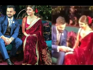 WATCH: Virat Kohli & Anushka Sharma Exchange Rings