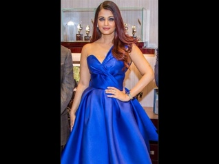 Aish Won Hearts By Not Being Fashionably Late At An Event