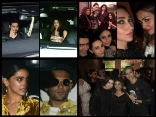 Aishwarya PARTIES With Abhishek's EX Karisma At SRK's Bash