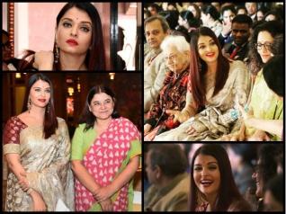 Aishwarya Looks Fab; Spotted At Rashtrapati Bhawan [PICS]