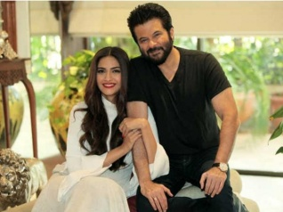 It's Lights, Camera & Action For Anil Kapoor- Sonam Kapoor!