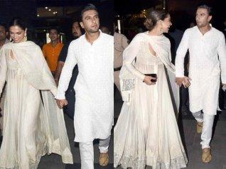 HAPPY AT LAST! Deepika Padukone Holds Ranveer Singh's Hand