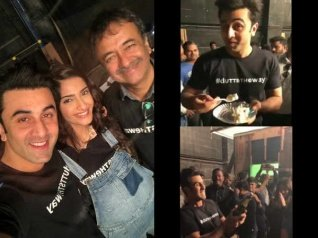 Dutt Biopic: Exes Ranbir- Sonam Caught In A Frame! [PICS]