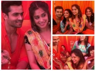 INSIDE PICS Of Dipika & Shoaib's Fun-filled Mehendi Ceremony