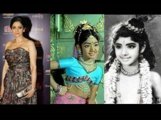 When Sridevi Faced The Camera For The First Time!