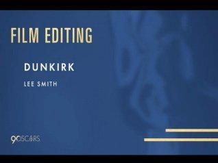 Dunkirk Wins 2018 Oscar For Best Editing!