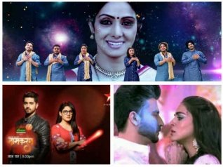 Rising Star Tribute To Sridevi On Top Slot Of TRP Chart!