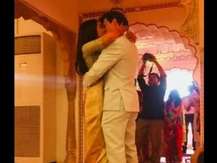 Newly-Weds Shriya & Andrei's Kissing Picture Goes Viral