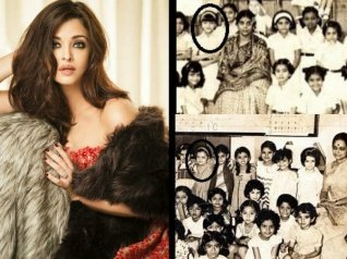 Aishwarya Shares Adorable Pics From Her School Days!