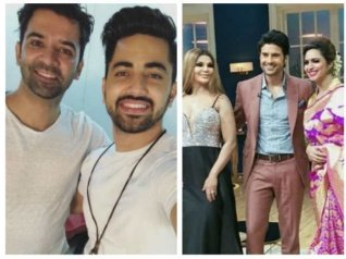 Barun Sobti & Zain Imam Shoot For Rajeev's Show