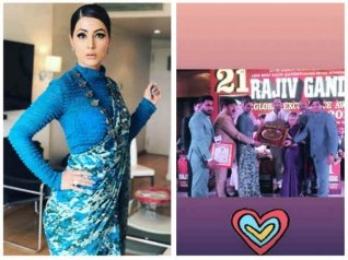Hina Khan Bags Rajiv Gandhi Global Excellence Award 2018