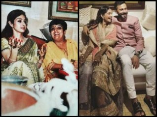 Sridevi Was Missed Immensely By Janhvi At Sonam's 'Mehendi'