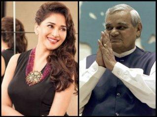 When Madhuri Drew Atal Bihar Vajpayee Him Away From Sweets