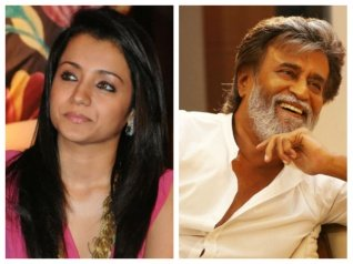 Trisha To Work With Superstar Rajinikanth For The First Time