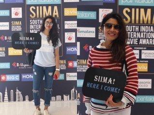 Shriya Saran And Others Arrive In Dubai For SIIMA 2018!