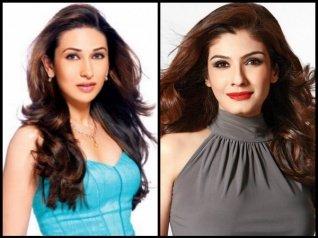 Karisma-Raveena Had A Major Showdown At SRK's Party!