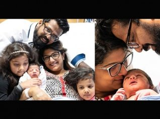 These Photos Of Rambha's Baby Are Going Viral