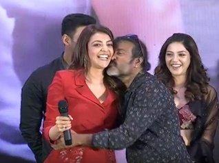 Cinematographer Kisses Kajal Without Her Permission