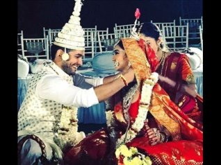 Diganth And Aindrita Tie The Knot!