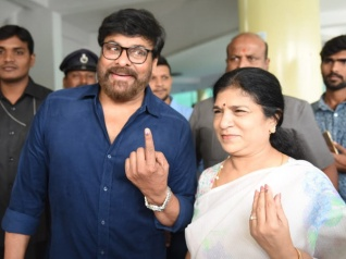 Telangana Elections: Chiranjeevi And Others Cast Their Vote