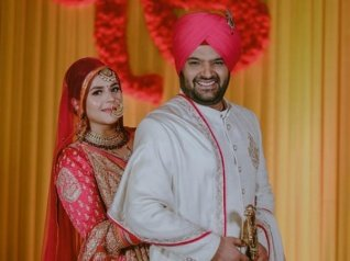 Kapil & Ginni Get Hitched As Per Sikh Ritual! (PICS)