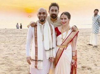 Raghu Ram Gets Hitched To Natalie Di Luccio! (PICS)