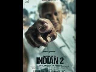 Indian 2 First Look Poster Out!