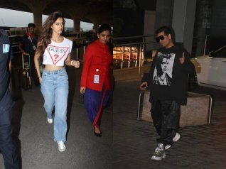 KJo's Swag At The Airport Is Unmissable; Disha Goes Casual