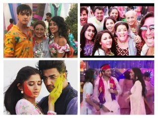 Holi TWISTS On KZK 2, YRKKH & Others Shows!