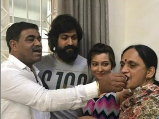 Radhika Pandit Thanks Yash's Parents For This Special Gift!