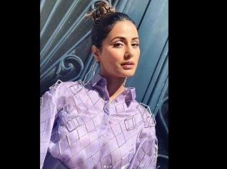 Journalist APOLOGISES to Hina Khan!
