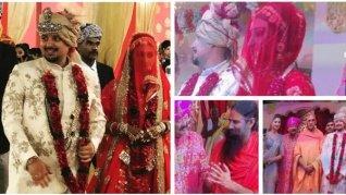Mohena Looks Breathtaking In A Red Poshak: Wedding Pics