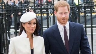 Harry & Meghan's Wax Statues Moved Away From Royals