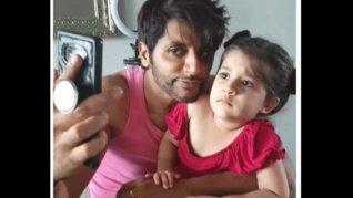 Karanvir's Daughter Asks Him Angrily, 'Why Did You Hit Mom?'