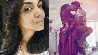 Shveta Salve's Passionate Kiss With Hubby Hermit Sethi