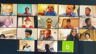 TV Producers JD Majethia, Ekta Kapoor Meet Maharashtra CM