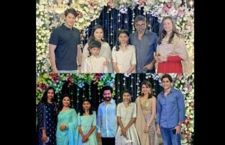Celebs Attend Sukumar's Daughter Sukriti's Half Saree Event