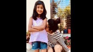 Rashmika Celebrates Her Little Sister's Birthday