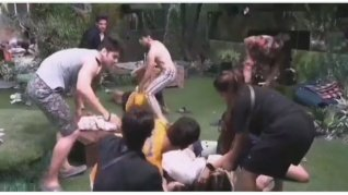 BB 15 Contestants Get Violent As They Fight Like CRAZY
